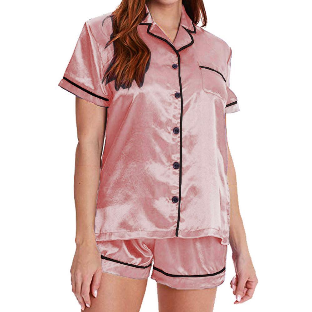 Totally Pink Womens 2 Piece Pajama Set