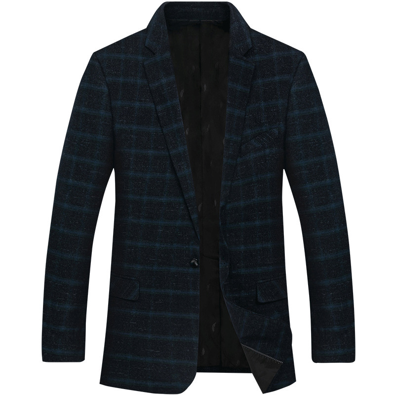 BIG 10XL 8XL 6XL MMens Korean Slim Fit Fashion Cotton Blazer Suit Jacket Black Blue Plus Size Male Blazers Mens Coat Wedding