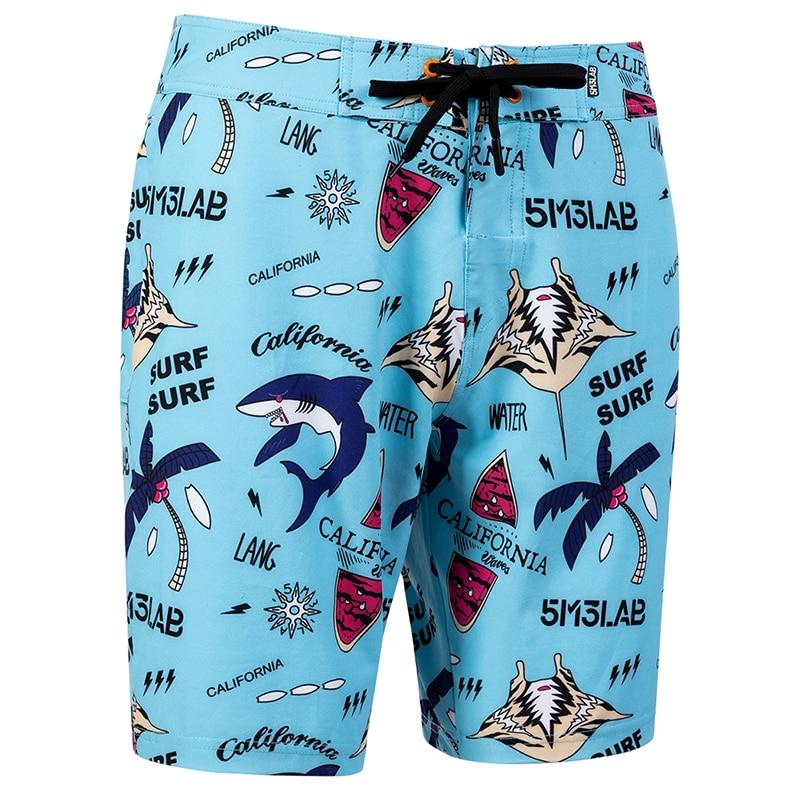 Beach Shorts Men Trunk Summer Short Pants Print Breathable Quick Dry Swim Shorts Plus Size Mens Shorts Summer Swim Trunks