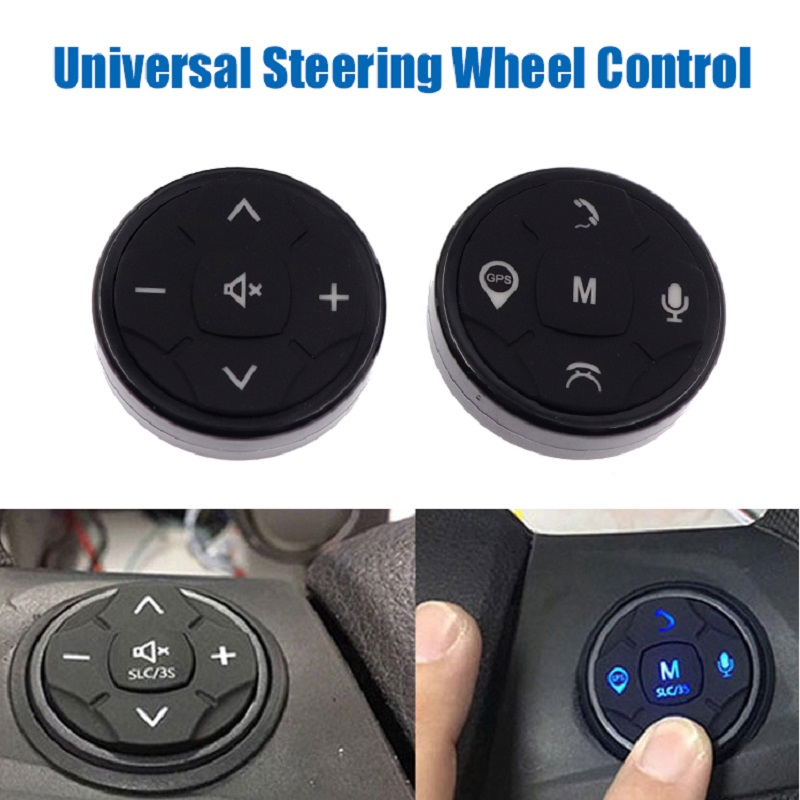 Universal Car Steering Wheel Remote Control For Auto Music Wireless DVD GPS Navigation Radio Remote Controller Buttons