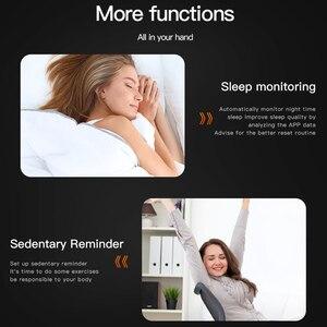 Image 5 - Gosear reloj inteligente con control del ritmo cardíaco y de la presión sanguínea para hombre y mujer, pulsera inteligente con Bluetooth para Apple IOS y Android