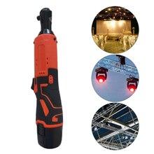 Беспроводной электрический ключ с трещоткой комплект рукава светодиодный светильник для работы аккумуляторные батареи Аксессуары для электроинструмента