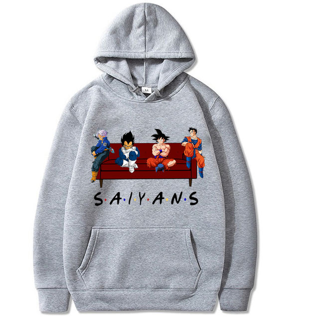 SAIYANS THEMED HOODIE (6 VARIAN)