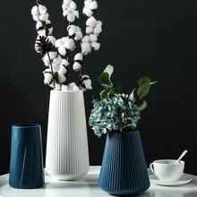 Small Vase Living-Room Plastic Bottle Flower-Decoration Plant Hydroponic European-Style