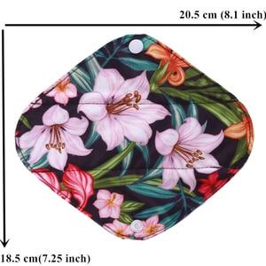 Image 5 - [Simfamily] 10 sztuk wielokrotnego użytku podkładki bambusowy węgiel drzewny podpaski zmywalna wkładka higieniczna Mama macierzyński menstruacyjny bawełna tatusiowie