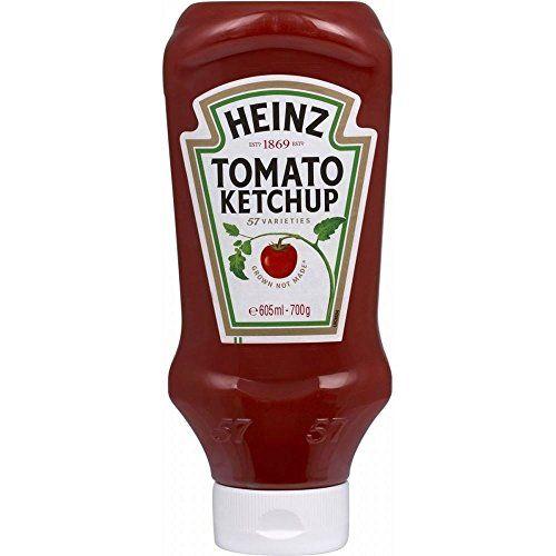 Heinz Tomato Ketchup - Dall'Alto Verso Il Basso (700g) (Confezione Da 2)