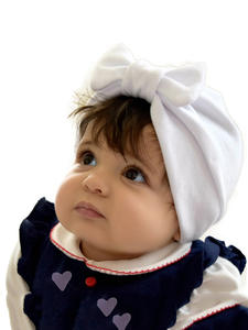 Headwear Baby Headband-Accessories Hair-Bands Toddler Turban Bowknot Kids Cotton Cap
