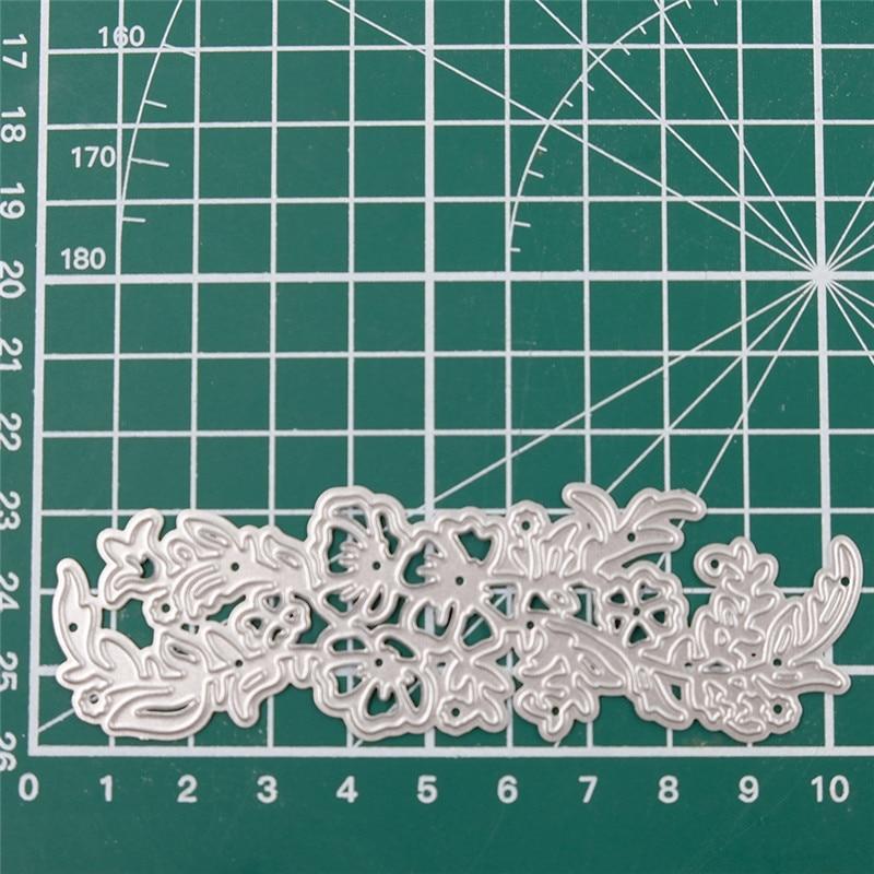 Eastshape Flower Border Metal Cutting Dies Floral Branch Frame DIY New 2019 Scrapbooking for Card Making Embossing Stencil
