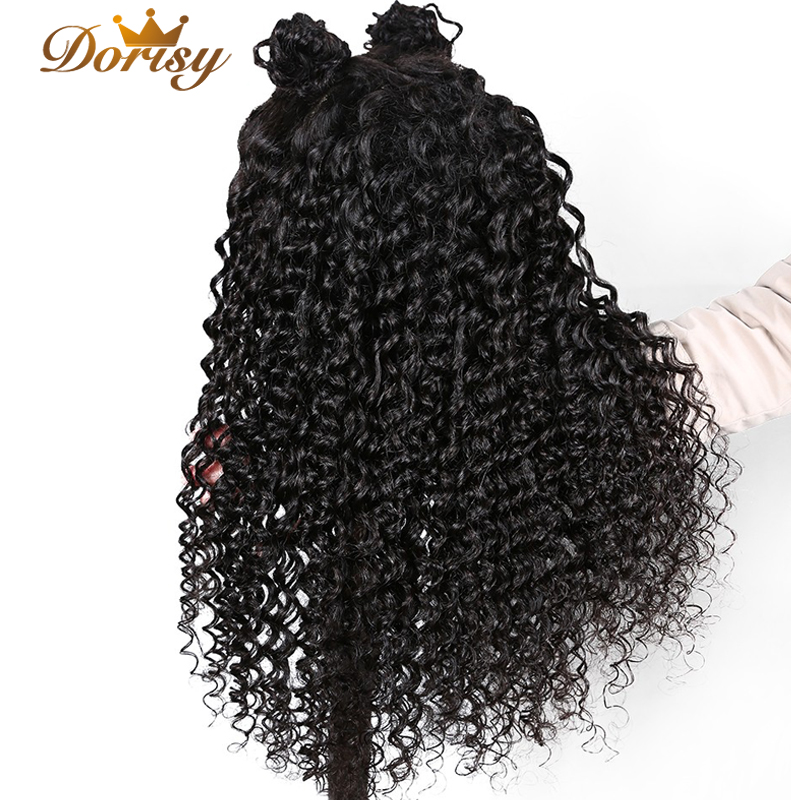 Lace Frontal Human Hair Wigs 13x4 Brazilian Deep Wave Wig Pre Plucked With Baby Non Remy
