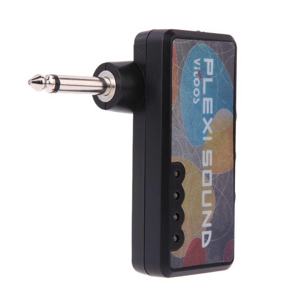 المحمولة الغيتار الكهربائي التوصيل سماعة رأس صغيرة أمبير مكبر للصوت الصوت المدمجة قابلة للشحن الآلات الموسيقية