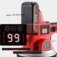 21v Tile Vibration Machine Digital Display High Frequency Ceramic Tiles Tools Construction Tool Tile Leveling System
