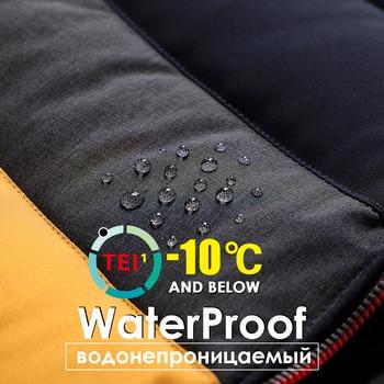 Men 2021 Winter Brand New Casual Warm Thick Waterproof Jacket Parkas Coat Men New Autumn Outwear Windproof Hat Parkas Jacket Men 5