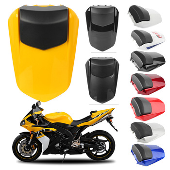 Motorcycle Rear Pillion Passenger Cowl Seat Back Cover For Yamaha YZF R1 2004 2005 2006 / YZF-R1 04 05 06 upper front fairing cowl nose for yamaha yzf r1 yzf r1 2004 2006 2005 motorcycle accessories