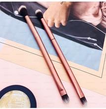 1Pcs Makeup Brushes Contour Brush Eyeshadow Brush Doubled Ended Eye Make Up Brushes Cosmetics Tool Eye Makeup Cosmetic Applies все цены