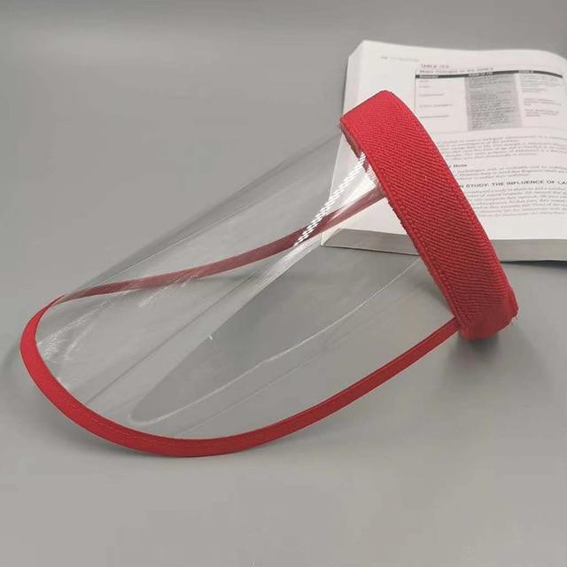 UV Protection Sun Hat Women's Anti-spray Saliva Empty Top Hat Mask Screen Isolation Breathable Mask Shield 2