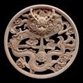 Европейские наклейки резные Дракон диск двери цветы и деревья резная мебель кровать цветы резные резьба по дереву Лидер продаж деревянная ...