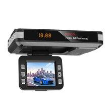 Автомобильный радар DVR 9V~ 24V 2 в 1 Анти радар детектор 12 языков вождения рекордер Видео камера Обнаружение потока видеорегистратор автомобильный детектор