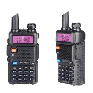 Image 2 - Baofeng UV 5R Walkie Talkie Portable CB Radio Station Dual Band UHF VHF Hunting Ham Radio 5W HF Transceiver UV5R Two Way Radio