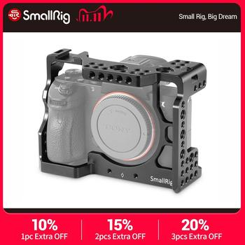SmallRig A7iii DSLR Cage for Sony A7RIII/A7M3/A7III Camera Cage Stabilizer With Cold Shoe Mount 1/4 3/8 Threaded Holes – 2087