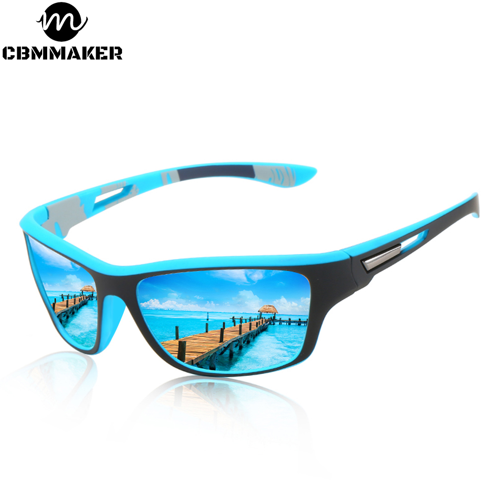 Men's Bicycle Glasses Cycling Sunglasses Outdoor Sports Windproof Cycling Polarized Sand Goggles UV Protection Bike Equipment