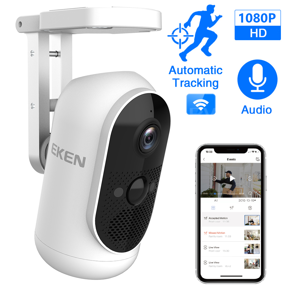 Full HD 1080P Mini Camcorder EKEN ARGUS Wifi Night Vision Home Security Safety Monitor Wide Angle Outdoor Indoor IP Video Camera
