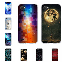 For LG Q6 M700N M700A M700DSK M700AN Case Ultra-slim Soft TPU Silicone For LG Q6 Plus Cover Cute Cat Patterned For LG Q6a Capa цена