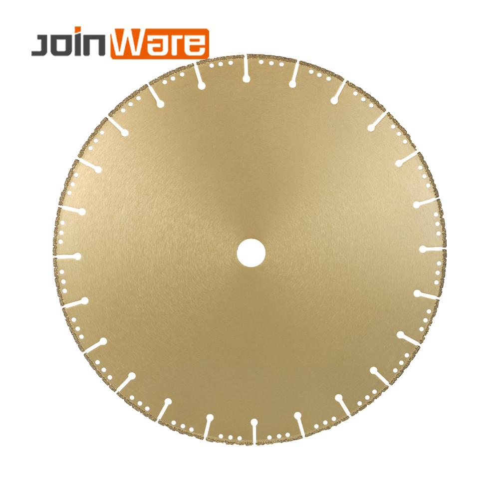 DIATOOL 1pc 350mm Vacuum Brazed Diamond Blade For All Purpose 14 Demolition Blade For Stone Iron Steel - 4