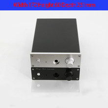 KYYSLB 172*60*251mm 1706 All Aluminum Amp Amplifier Chassis Box House DIY with Switch Knob Power Seat Screw Amplifier Case Shell(China)