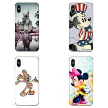 Cartoon Dier Kissing Mickey Minnie Mouse Voor Galaxy A8 A9 Star Note 4 8 9 10 S3 S4 S5 S6 s7 S8 S9 S10 Rand Lite Plus Pro G313(China)