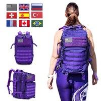 Mochila unisex para senderismo, bolsa impermeable tipo militar ideal para gimnasio o actividades al aire libre, 50 litros