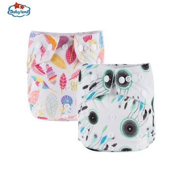 [11.11 Promotion] Cloth Baby Diapers 11pcs Pocket Nappy+11pcs Microfiber Inserts Absorbents Washable Diapers Reusabe Child Nappy