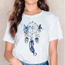 Одежда футболки для женщин женская футболка с графическим принтом