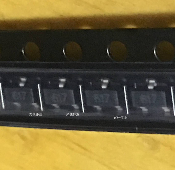 Оригинальные 40 шт./FMMT617TA NPN SOT23-3