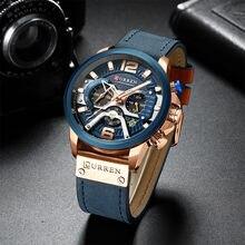 2021 relógio de quartzo dos homens moda personalidade cavalheiro masculino relógio à prova dlarge água grande dial luxo relógio de pulso