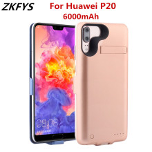 ZKFYS Battery Case For Huawei P20 External shockproof Power Bank Cases 6000mAh Charger