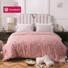 Sondeson роскошное женское одеяло из 100% шелка тутового шелкопряда