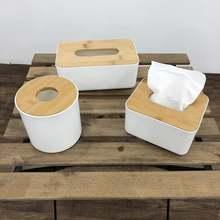 Домашний Кухня деревянный Пластик ткани ящик из твердой древесины