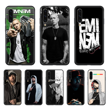 Eminem 8 Mile Rap God Phone Case cover hull For SamSung Galaxy A 3 5 7 10 20 30 40 50 51 70 71 e s plus black funda soft coque image
