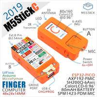 ¡Nueva llegada! 2019 M5StickC ESP32 PICO Mini IoT Placa de desarrollo de dedo ordenador con Color LCD