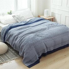 150*200cm 200*230cm Cotton Gauze Muslim Sofa Throw Blanket  Bedding Coverlet Summer Air Conditioning Bedspread for Kids Adults home textile sofa air jacquard bedding throw solid color travel bamboo cotton blanket 150 200cm free shipping sp2122