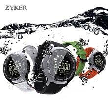 ZYKER Smart Watch Sport Waterproof pedometers Message Reminder Outdoor Smartwatch Card Call man and women Bluetooth