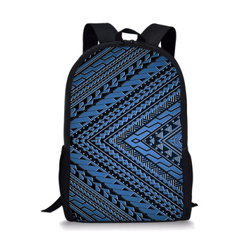 Polynesian Tattoo Design Women Travel Backpack School Bags For Teenage Girls Boys Multifunctional Schoolbags Mochilas Mujer joyir women backpack genuine leather fashion travel backpack mochilas school leather shopping travel bags schoolbags for girls
