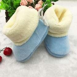 Зимние теплые для детей детская обувь для детей ползунков мягкая детская подошвой, которые делают первые шаги; обувь; # E