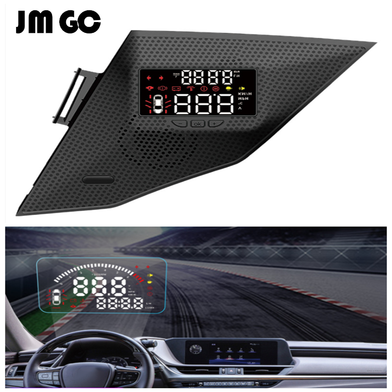 Automotive OBD Glass Projection HUD Display Suitable For Lexus ES200 ES300 Speed Display / Speed Display / Tire Pressure Monitor