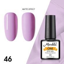 MORDDA 10 мл Гель-лак для ногтей, инструменты для маникюра, Цвета одношаговый гель для украшения для ногтей, лак для ногтей, гель эмаль для рисунк...