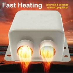 High Power Demister 12V 800W uniwersalny szybki termowentylator nagrzewnica powietrza samochodowego odszranianie szyby przedniej w Części nagrzewnicy od Samochody i motocykle na