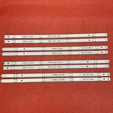 8 ピース/セット led バックライトストリップ lg 49LH570V 49LH5100 49LJ510M 49UH610V 49LH570 49LH590V 49UH603V 49UH620V 49LW340C 49LW340H