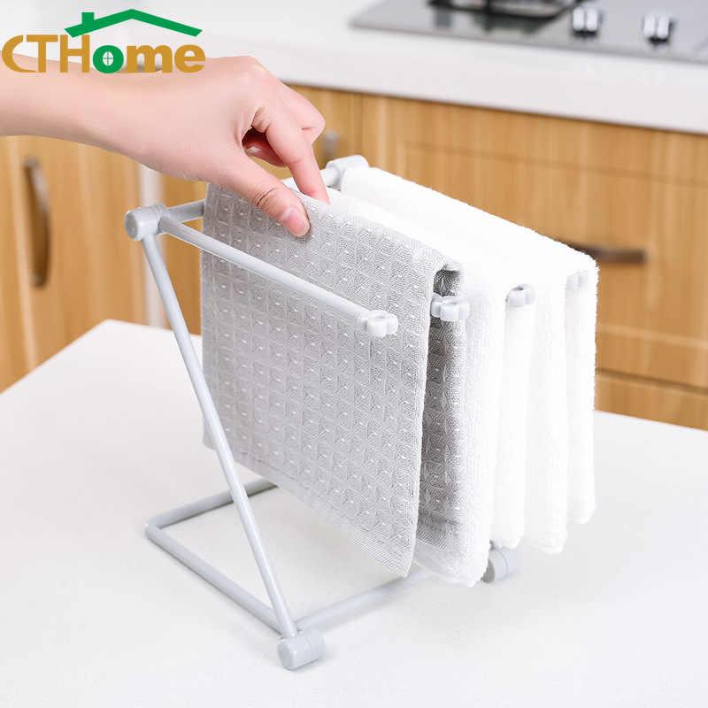 Floor Type Kitchen Supplies Plastic Toilet Small Storage Rack Rag