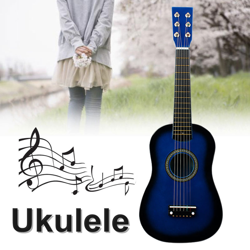 Musical Instruments Children Acoustic Guitar Handicrafts Basswood 23