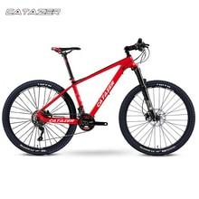 CATAZER Carbon Mountain Bike 27.5er Disc Brake MTB Bicycle 650B Body 22 Speeds Cycle With SHIMAN0 M8000 Group Set